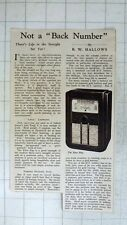 1939 Short Review Of The Ecko B39 Radio Set