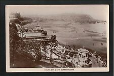L@@K  South Bay & Spa Scarborough 1900's? RP Postcard ~ SUPER IMAGE
