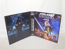 Custom Made Star Wars Return of the Jedi 3D Trading Card Binder Graphics Only