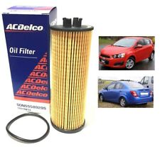 Genuine ACDelco Element Oil Filter 2012-2017 ON Chevrolet Chevy Aveo Sonic Auto