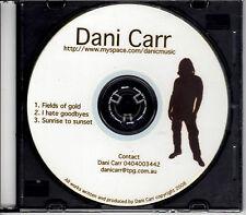 CD (New) - Dani Carr - Promotional EP (3 Tracks)