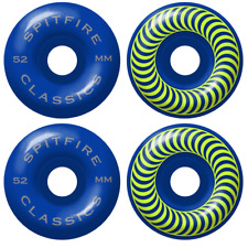 Spitfire Classics Cobalt Blue 54mm 99d Skateboard Wheels (Set of 4)