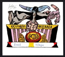 20)Nr.004- EXLIBRIS- Josef Liesler