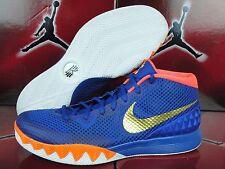 NEW Nike Kyrie Irving 1 I NikeiD ID Sz 13.5 NYC Knicks Blue Orange Gold White