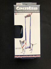 GingerLead Mini Dog Support & Rehabilitation Harness NEW