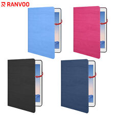 RANVOO For iPad Air 2 Case Stand PU Leather Full Protective Absorb Shock Cover