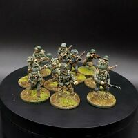 Painted 28mm Bolt Action us infantry ×10 Squad #2