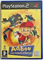 ADIBOU et Les Voleurs d'énergie / PS2 PlayStation TBE Jeu & Notice en Français
