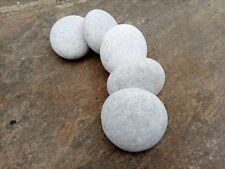 5 Stones For Mandala Painting - Large Round Natural Smooth Stones
