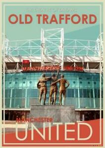 Manchester United  Poster Wall Art Prints