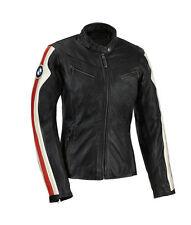 BMW-Para Damas/Mujeres Moto/moto chaqueta de cuero del zurriago Racing Racer (replic