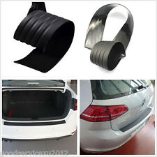 One Pcs Black Autos Rear Bumper Exterior Protector Cover Guard Rubber For Honda
