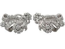 Cluster VVS1 Fine Diamond Earrings