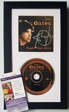 JOHN OATES OF HALL & OATES CD DISPLAY JSA CERTIFIED COA SIGNED MUSIC AUTOGRAPHED