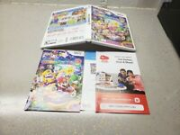 NO GAME Mario Party 9 2012 original case and Manual ONLY NO GAME INCLUDED
