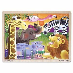 Melissa & Doug - African Plains Jigsaw Puzzle 24pc