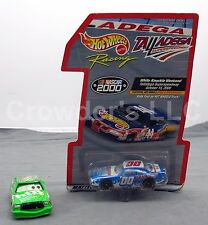 Set of 2 Race Inspired Collectibles: Talladega NASCAR 2000 & htB 86 Chick Hicks