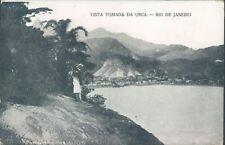 BRAZIL Rio de Janeiro Vista Tomada Da Urca 1914 PC