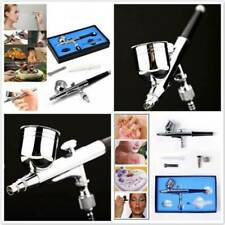Portable Make Up Art Painting Dual Action Mini Air Compressor Airbrush Kit T3