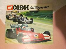 1973 Corgi Toys Yearly 40 Page Catalog Advertisement Brochure MINT