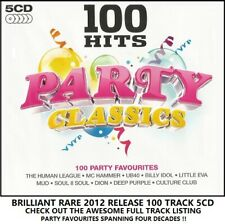 Best 100 Greatest Party Classics 5CD UB40 Proclaimers MC Hammer Mud Maxi Wurzels