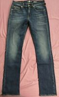 7 For All Mankind Men's Blue Slimmy Soundtrack Denim Jeans 32/32 New With Tags