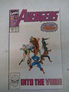 AVENGERS #314 FEB 1990 NM+ NEAR MINT 9.6 SPIDER-MAN SERSI THOR CAP INTO THE VOID