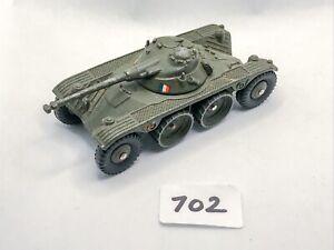 NICE DINKY FRANCE # 80A/815 PANHARD EBR DIECAST ARMOURED CAR ARMY MILITARY 1958