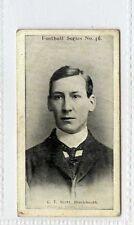 (Gx310-454) Wills, Football Series, #46 C.T.Scott, Blackheath Rugby 1902 VG