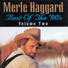 Merle Haggard - Best of the '90s Vol. 2 (2013)  CD  NEW  SPEEDYPOST