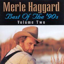 Merle Haggard - Best of the '90s Vol. 2 (2013)  CD  NEW  SPEEDYPOST