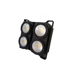 2pc/lot 400W COB  led audience white warm 2in1  LED blinder light show light