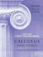 Student Solutions Manual to accompany Calculus: Several Variables, 10e (Chapters