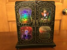 Disney Alice In Wonderland Jewelry Box Red Queen Mad Hatter