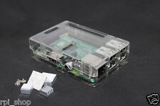 Raspberry Pi 2 and 3 Model B/B+ ABS Transparent Modular case RPIC112