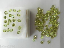 4mm round peridot gemstones £1.50p each.