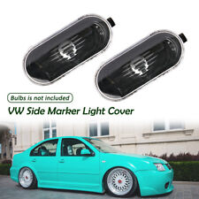 2x Car Marker Light Housing Cover for VW Golf Jetta Passat B5 Bora MK4 GTI/R32