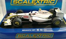 SCALEXTRIC F1 BRAWN GP 001 C3048 VERY RARE NO23 CAR - RUBENS BARRICHELLO VGC