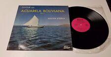 ERNESTO CAVOUR LP ACUARELA BOLIVIANA VOL II BOLIVIA ETERNA BLUE LD-006 ST