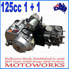 125cc 1 + 1 Fully auto + reverse Engine Motor ATV Quad Bike 4 Wheeler