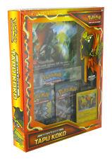Box Pokemon COLLEZIONE TAPU KOKO + Carta Gigante + 3 Buste IN ITALIANO