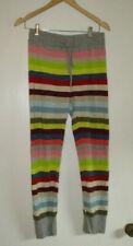 Gap Body Womens Knit Pajama Pants  Multi Color Stripes Size Small