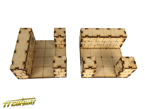 TTCombat - RPG018 - Dungeon T-Junction Sections