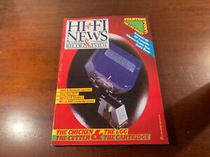 hi fi news and record review hi-fi magazine nice condition November 1984