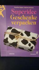 Buch, Buch für Geschenkverpackungen, Superidee Geschenke verpacken