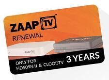 Zaaptv hd509n II & zaaptv cloodtv IPTV estensione per 3 anni