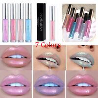 Lip Gloss Holographic Moisturizing Mermaid Dazzling Color Lip Makeup Cosmetics