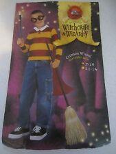 Crimsom Wizard Halloween Shirt w/Cape Costume - Boy's Size 7-10 - CW2