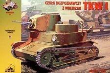 Tkw I-Tanque de luz polaco 1/35 RPM panzer