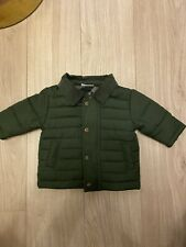 Next Baby Boy Quilted Jacket 0-3 Months Barber Style